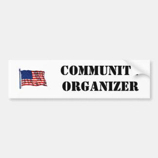 Community Organizer Bumper Sticker