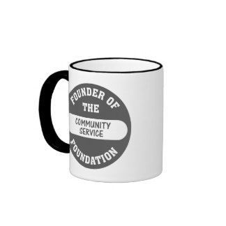 Community service starts with me as the foundation coffee mugs
