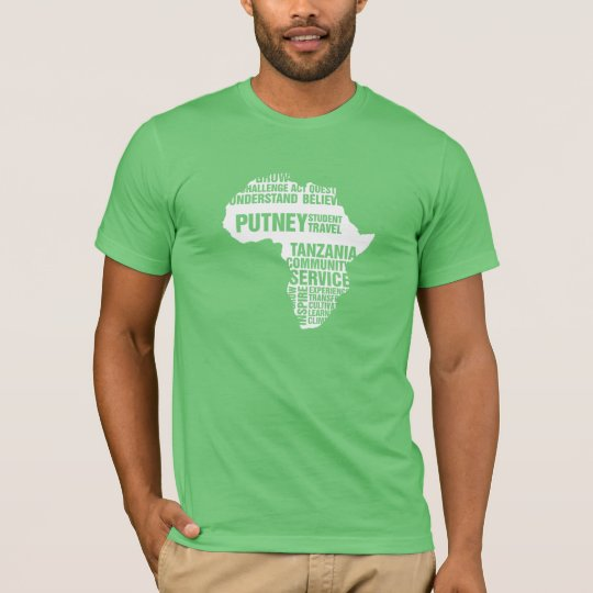 Community Service Tanzania in Multiple Colours T-Shirt