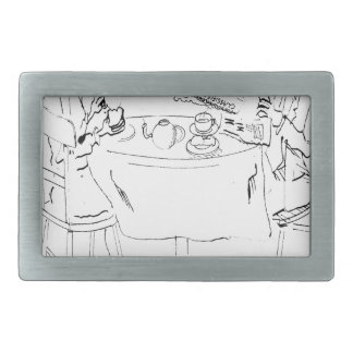 Commuting Cartoon 1098 Belt Buckle