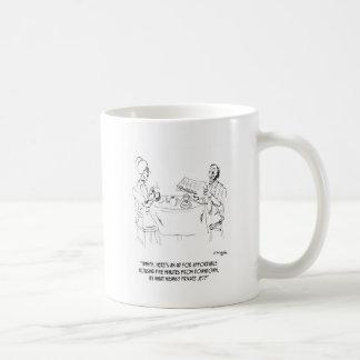 Commuting Cartoon 1098 Coffee Mug