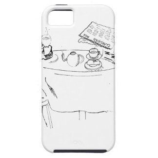 Commuting Cartoon 1098 iPhone 5 Cases