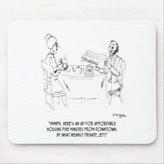 Commuting Cartoon 1098 Mouse Pad