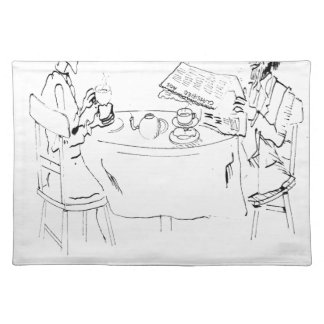 Commuting Cartoon 1098 Placemat