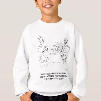 Commuting Cartoon 1098 Sweatshirt