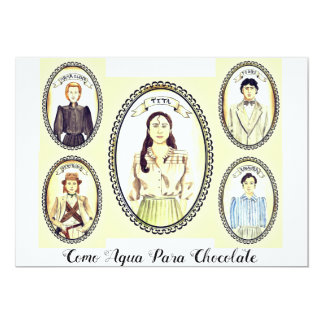 Como Agua Para Chocolate Book Club invite