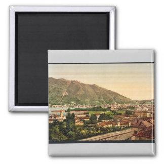 Como, from the railway, Como, Lake of, Italy vinta Magnet