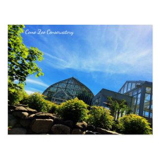 Como Zoo Conservatory Postcard