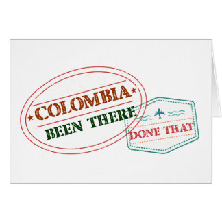 Comoros Been There Done That Card