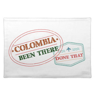 Comoros Been There Done That Placemat