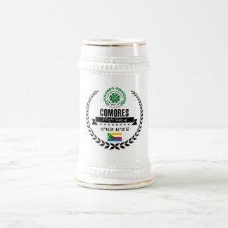 Comoros Beer Stein