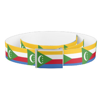 Comoros Flag Belt