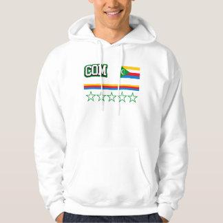 Comoros Flag Hoodie
