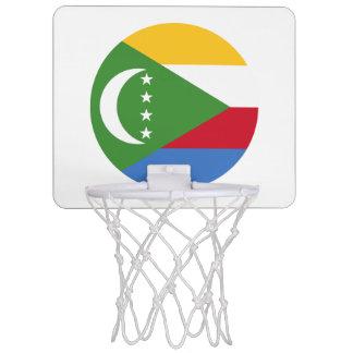 Comoros Flag Mini Basketball Hoop