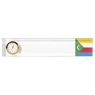 Comoros Flag Nameplates