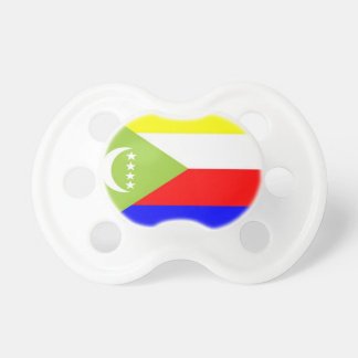 Comoros Flag Pacifier