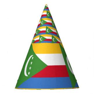 Comoros Flag Party Hat