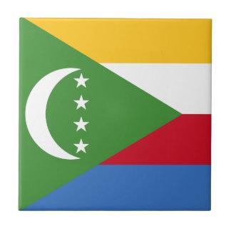 Comoros Flag Tile