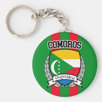 Comoros Keychain