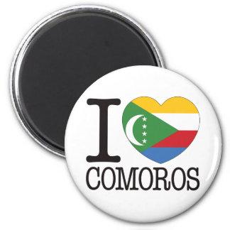 Comoros Love v2 Magnet