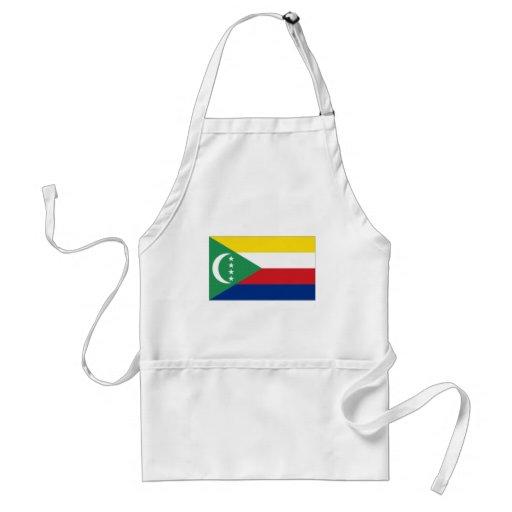 Comoros National Flag Aprons