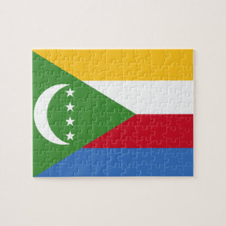 Comoros National World Flag Jigsaw Puzzle