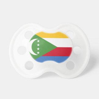 Comoros National World Flag Pacifier