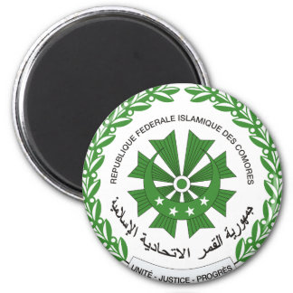 comoros seal 2 inch round magnet