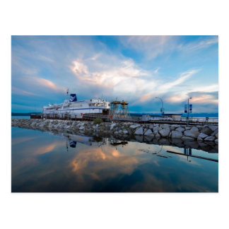 Comox Ferry Postcard
