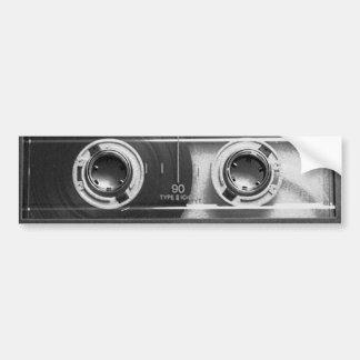 Compact Cassette Tape Bumper Sticker