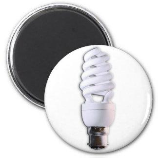 Compact Fluorescent Light Bulb Refrigerator Magnet