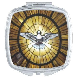 Compact Mirror--Dove Makeup Mirrors