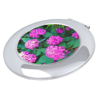 Compact Mirror flower florals smiles n happiness