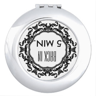 COMPACT MIRROR SENDING THE MESSAGE SERIES STYLE
