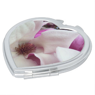 Compact - Saucer Magnolia Bloom Vanity Mirrors