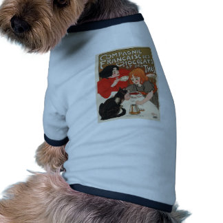 Compagnie Francaise Des Chocolats Dog T Shirt