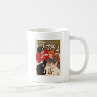 Compagnie Francaise Des Chocolats Classic White Coffee Mug