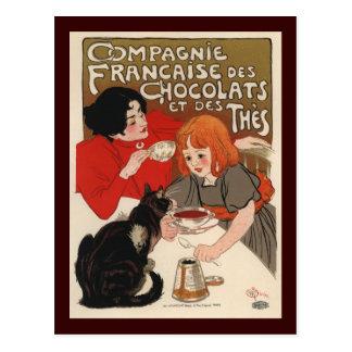 Compagnie Francaise Des Chocolats Postcards