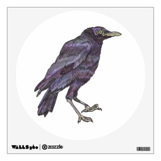 Companion Crow Wall Decal
