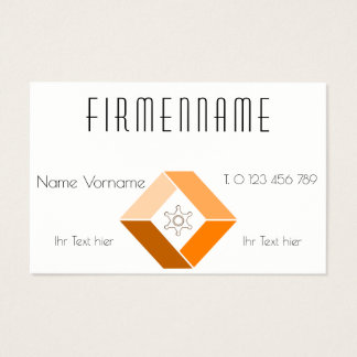 company business business card