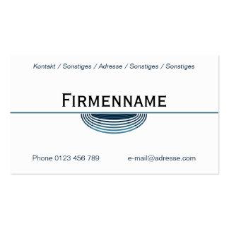 Company Business Card Templates