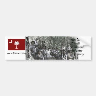 company-bw, us-sccit, 2nd South Ca... - Customized Bumper Sticker