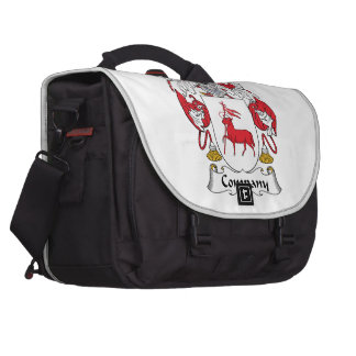 Company Family Crest Laptop Bags