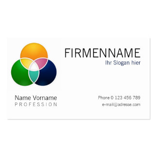 Company Pack Of Standard Business Cards