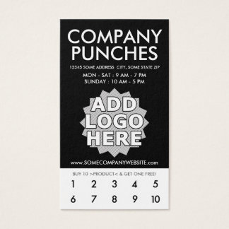 company punch card