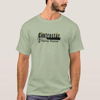 Company Uniform LOGO  Home Builder Contractor T-Shirt