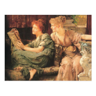 Comparisons in detail by Lawrence Alma-Tadema Postcard