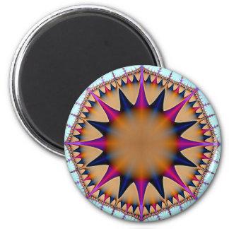 Compass 2 Inch Round Magnet