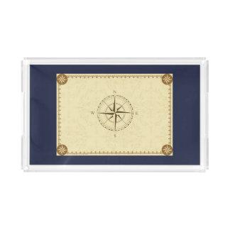 Compass Acrylic Tray