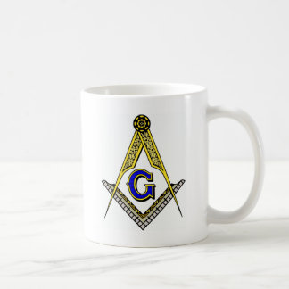 Compass and Square Coffee Mug